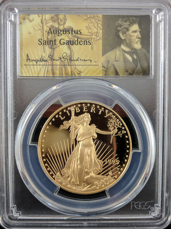 1995W Gold Eagle Back