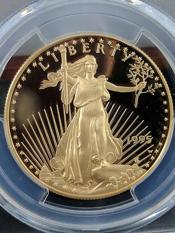1995W Gold Eagle PCGS