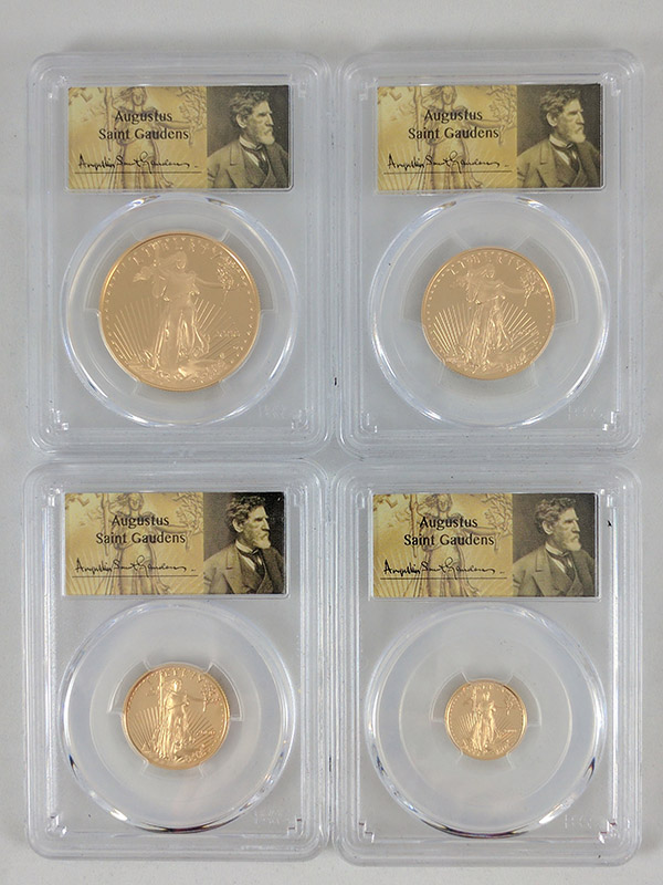 2000W Gold Eagle 4PC PCGS