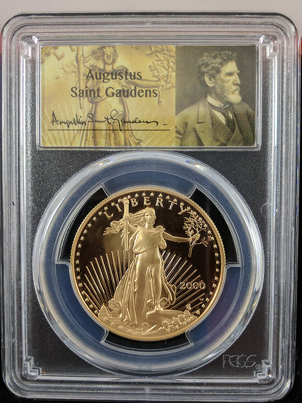 2000W Gold Eagle 4PC St Gaudens