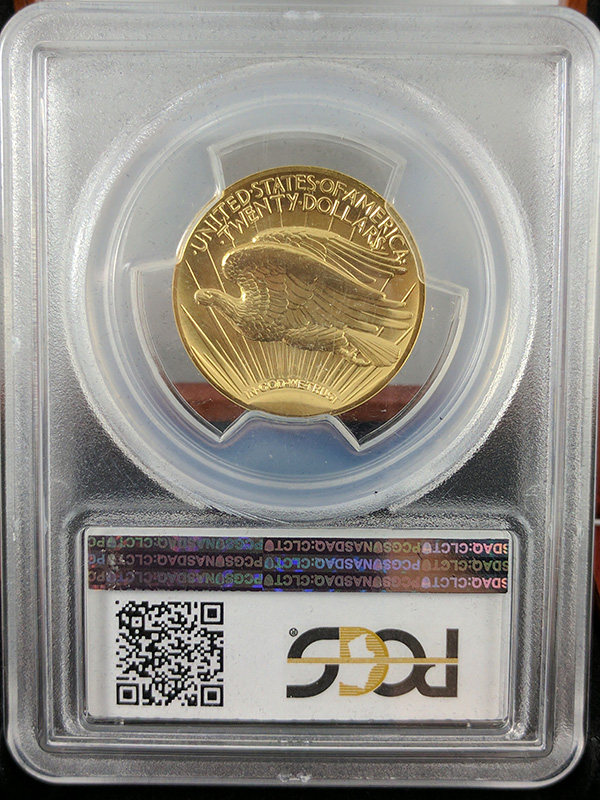 2009 Ultra High Relief Double Eagle PCGS