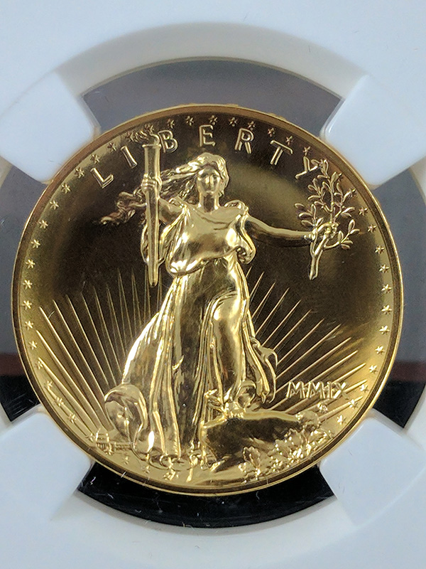 2009 Ultra High Relief NGC