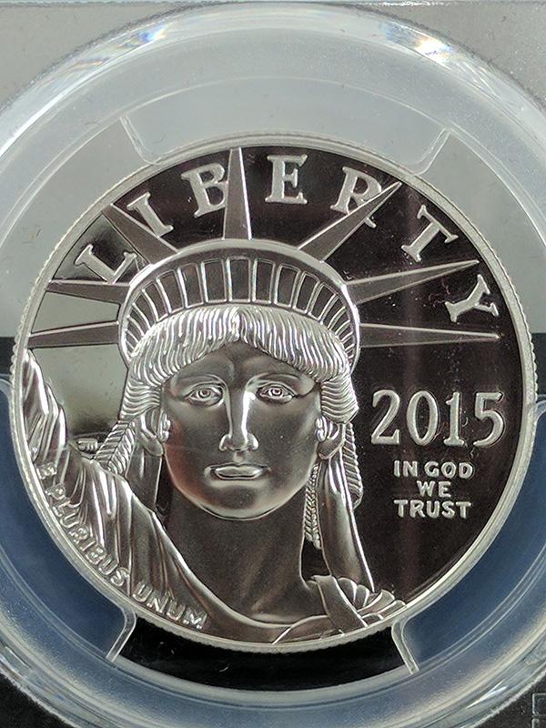 2015W Platinum Eagle PR70 DCAM