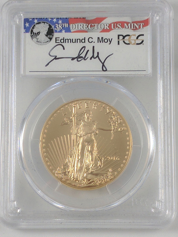 2016 Gold Eagle 30th Anniv Moy