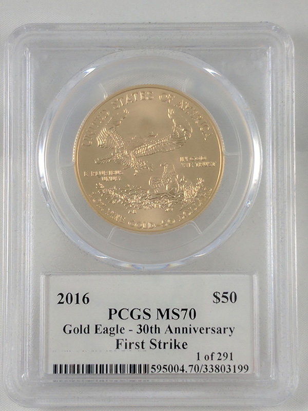 2016 Gold Eagle 30th Anniv
