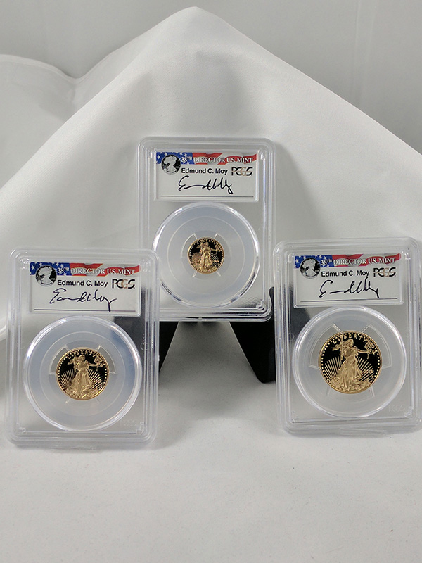 2016W Gold Eagle 30th Anniv 3PC Moy