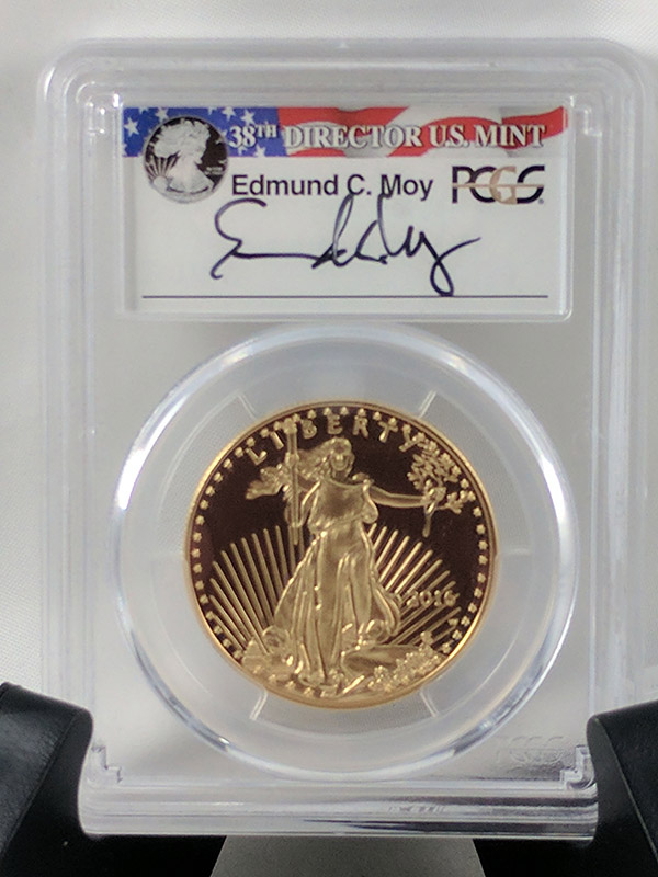 2016W Gold Eagle 30th Anniv First Strike