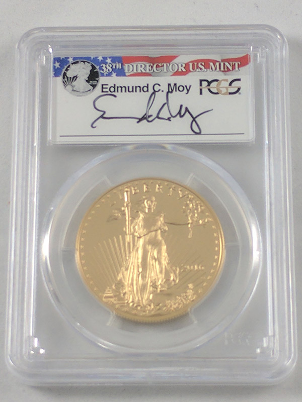2016W Gold Eagle 30th Anniv PR70 DCAM