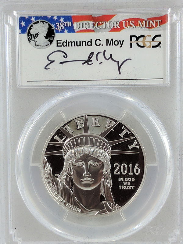 2016W Platinum Statue of Liberty Moy