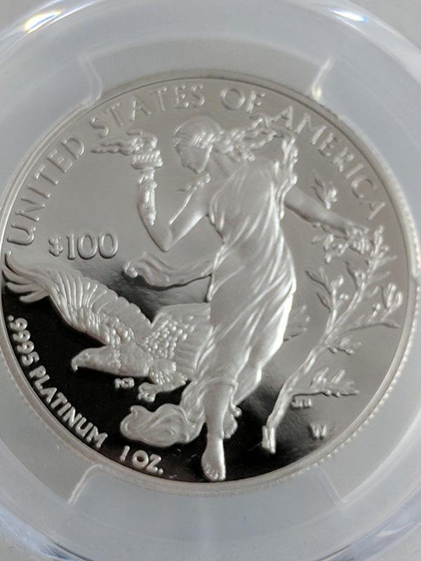 2016W Platinum Statue of Liberty PCGS