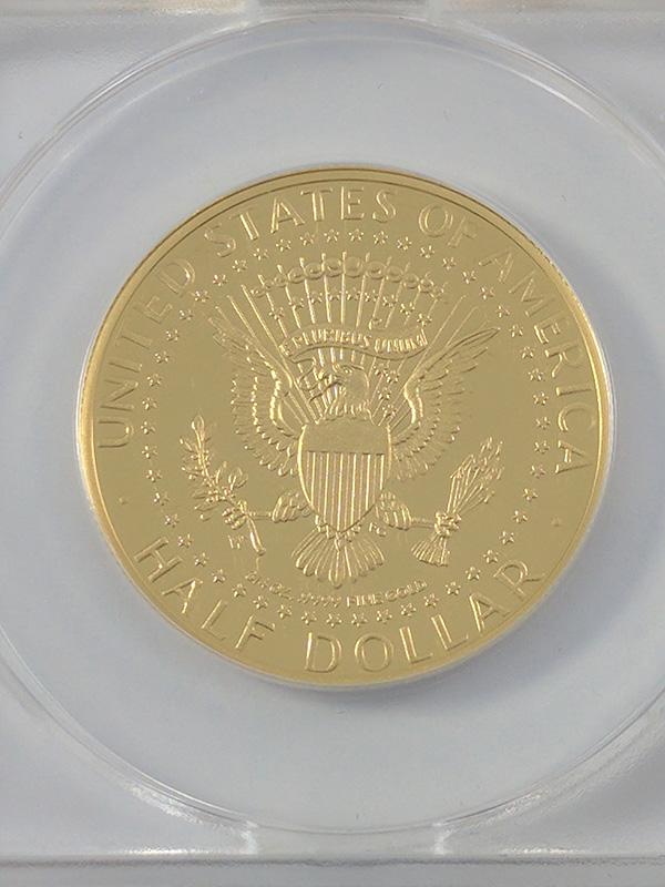 1964-2014W Half Dollar Gold JFK 50th Anniversary
