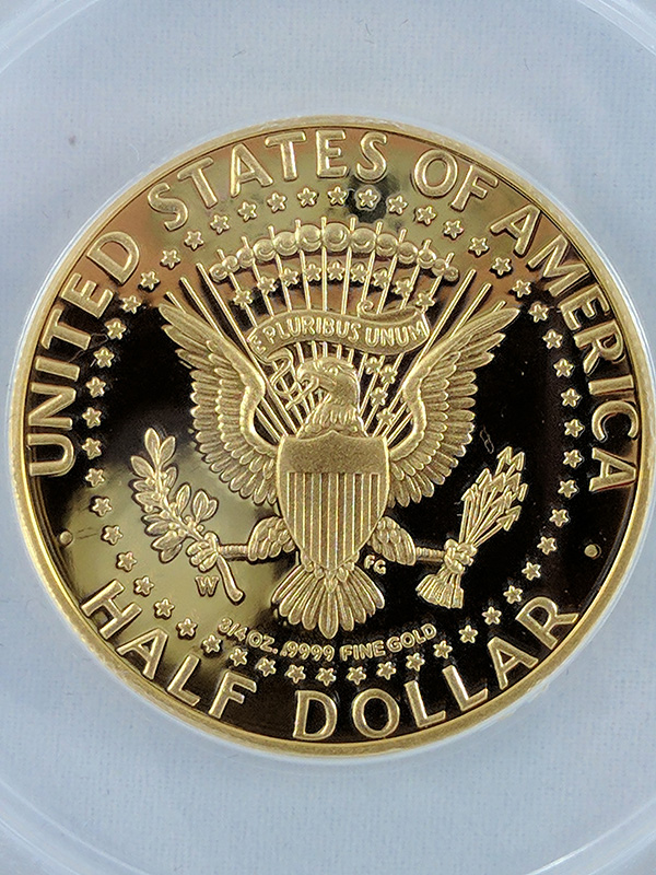 1964-2014W JFK Half Dollar High Relief First Release 50th Anniversary