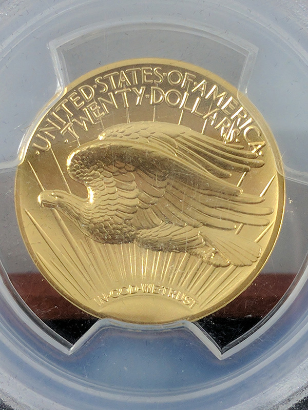 2009 PCGS MS70PL $20 Double Eagle Ultra High Relief