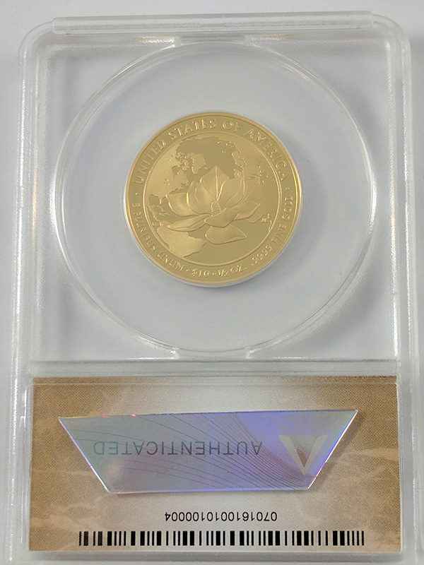 2015W First Release Jacqueline Kennedy First Spouse Gold Coin ANACS Certified