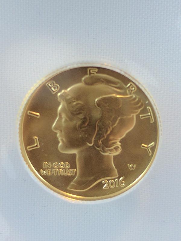 2016 Gold Centennial 3-Coin Set
