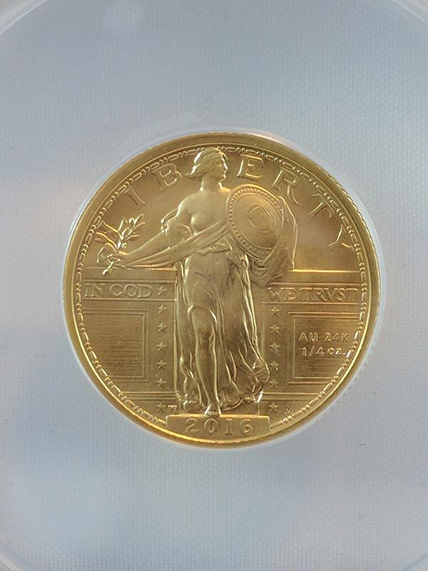 2016W Centennial Gold 3-Coin Set FR
