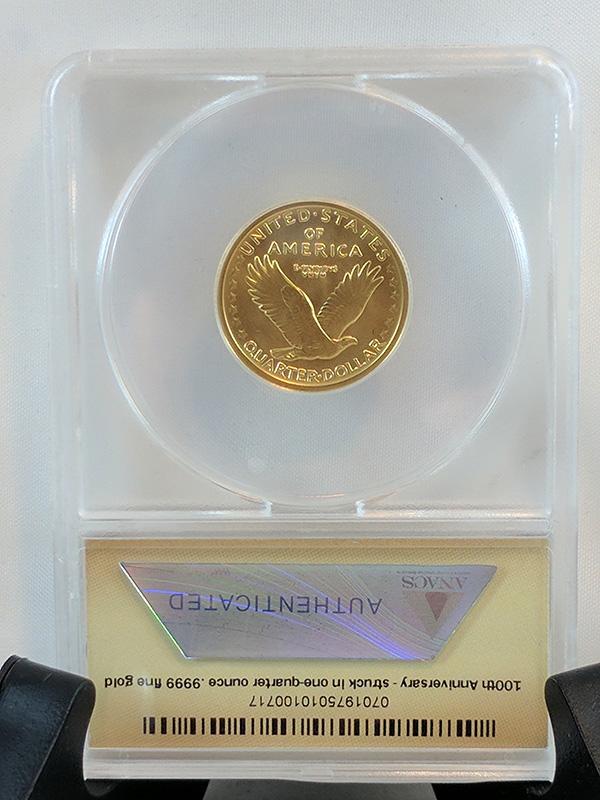 2016W First Release Centennial Gold 3-Coin Set