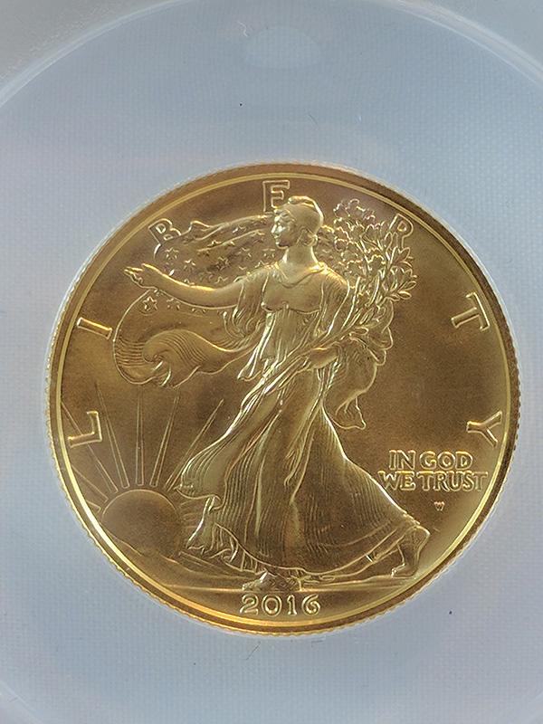 2016 3PC Centennial Gold Set